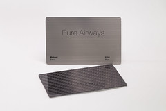 Pure Metal Cards - carbon fiber + brushed steel membership card (Pure Metal Cards) Tags: businesscards businesscard carbonfiber membercard beunique metalbusinesscards uniquebusinesscards purecontinental puremetalcards carbonfiberbusinesscards carbonbusinesscards carbonfibermembercards