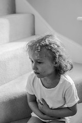 A series in chickenpox_2 (GrelaM) Tags: people blackandwhite monochrome child chickenpox illness