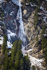 Lawinenfall (art180) Tags: schnee winter mountain snow berg landscape austria waterfall sterreich wasser wasserfall christian alpen landschaft avalanche lawine rinne michelbach abgang art180