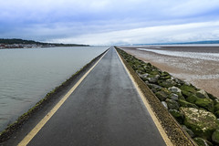 Going To Be A Long Walk (ClydeHouse) Tags: sea vanishingpoint estuary wirral westkirby riverdee byandrew
