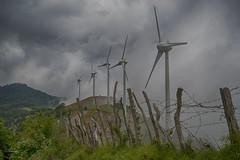 Entre las Montaas (Ivannia E) Tags: costarica energaelica cielo nubes montaas vallecentral