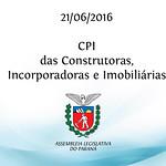 CPI das Construtoras, Incorporadoras e Imobili�rias 21/06/2016
