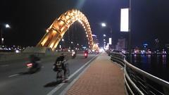 Dragon Bridge at night (Da Nang, Vietnam)