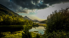 This is the gloamin (dmunro100) Tags: summer lake water evening scotland highlands dusk peaceful calm loch stillness gloaming kinlochleven lochaber lochleven