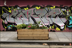 Corze (Alex Ellison) Tags: corze eastlondon urban graffiti graff boobs