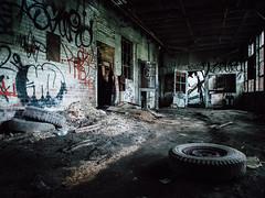 Mill (seikoesquepayne) Tags: urban rot abandoned pen rust decay olympus m exploration derelict zuiko urbex ep5