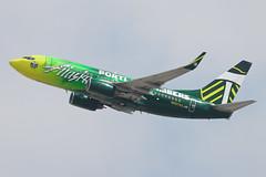 Alaska Airlines Boeing 737-700 N607AS (jbp274) Tags: alaska airport airplanes boeing lax 737 portlandtimbers mls alaskaairlines klax logojet