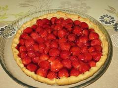 Ma premire tarte aux fraises faite maison :-) (Kermitfrog :-D) Tags: dessert tarte fraises tarteauxfraises faitmaison