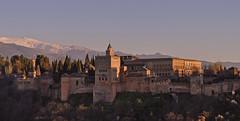 Spain - Andalucia - Granada - view of Alhambra (Harshil.Shah) Tags: spain nevada andalucia sierra alhambra granada