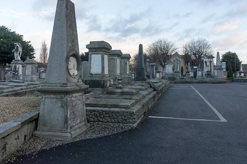 Mount Jerome Graveyard In Harold's Cross