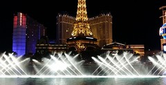Ballys & Bellagio fountain, Las Vegas