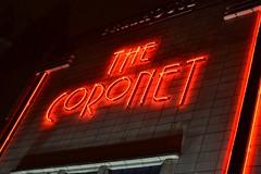 2014-11-26: The Coronet (psyxjaw) Tags: road cinema london sign pub neon artdeco holloway coronet wetherspoons londonist