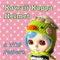 Kawaii Kappa Helmet
