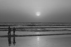 Black And White Photography Beach Sunset Sun White Black Love Beach