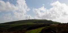 The backside of St Catherine's Hill (BOB@ wootton) Tags: st pepper hill salt down pot isleofwight isle catherines wight oratory iow pepperpot
