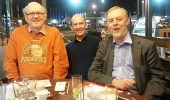 the brothers - Kevin, Brian and David (David Denny2008) Tags: family november ireland dublin dinner restaurant mao denny 2014 stillorgan