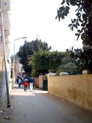 Monastery and Church of St. George - Nazlat El-Samman - Plateau pyramids - Giza - By Amgad Ellia 16 (Amgad Ellia) Tags: church st by george plateau monastery pyramids giza amgad ellia nazlat elsamman