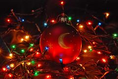 Christmas Lights (m.universal) Tags: christmas xmas colors beauty toys 50mm lights nikon mood colours bokeh decoration newyear ukraine kharkov merrychristmas kharkiv        d80        80