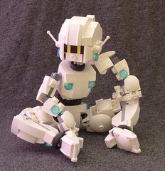 Gynoid04 (lingonkart) Tags: girl female robot lego sleek robotgirl android gynoid femalerobot girlrobot