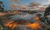 Santa Cruz (Chencho Mendoza) Tags: santacruz puerto nikon galicia nocturna oleiros d610 chenchomendoza