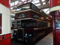 JBN 153 (markkirk85) Tags: new bus buses museum manchester transport corporation bolton 1956 titan 77 leyland 153 pd2 pd213 jbn jbn153 mccw