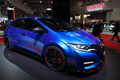 Honda Civic Type R Concept (Casi50) Tags: auto paris france cars car automobile europa europe ledefrance transports fr francia fra  mondial