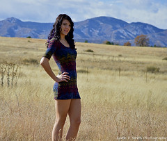(Justin T Smith Photography) Tags: nature outdoors nice model eyes colorado legs skirt short tall