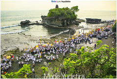 Melasti on Tanah Lot (Bali Based Freelance Photographer and Photo Stocks) Tags: life people bali nature beauty canon indonesia eos photo foto stock culture daily cultural alam budaya balinese culturalevent myudistira madeyudistira myudistiraphotography