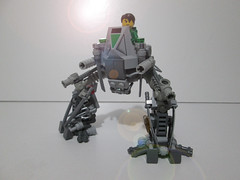 [MOC] Exo-Walker (AyliffeMakit) Tags: green grey lego photos space gray walker photograph future futuristic weapons mecha vents mech detailed spacemen neoclassic moc exosuit ayliffe