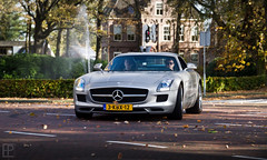 SLS AMG (Edwin Peek) Tags: autumn holland netherlands canon matt season photography eos grey mercedes benz drive flat nederland sigma automotive event 7d end peek edwin v8 sls laren amg