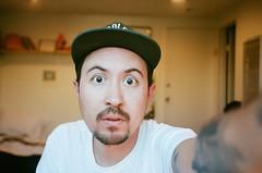 Self (Frederick Guerrero) Tags: portrait color film self 35mm kodak olympus 400 stylus pointandshoot portra stylusepic selfie kodakportra400