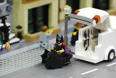 Batwoman! (OnceAndFutureLaura) Tags: legos minifigs jetcitycomicshow