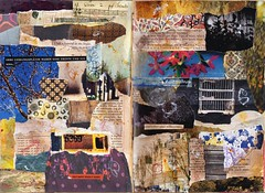 Journal 2014 26+27 (LaWendeltreppe) Tags: art collages journal