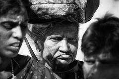 The look! (VinothChandar) Tags: portrait people blackandwhite portraits blackwhite portraiture tiruvannamalai thiruvannamalai