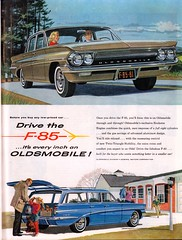 1961 Oldsmobile F-85 Advertisement The Saturday Evening Post February 18 1961 (SenseiAlan) Tags: evening post saturday advertisement february 18 1961 oldsmobile the f85