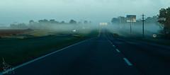 Memoria hostil de un tiempo de paz...  sin paz. (Loree R.) Tags: trip viaje argentina field fog ruta way countryside highway camino route campo canonrebel niebla afueras canoneosdigitalrebelxti
