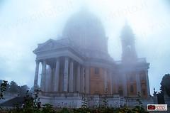 Basilica di Superga (OkFoto.it/News) Tags: torino nikon italia basilica piemonte nebbia turin architettura superga grandetorino stphotographia