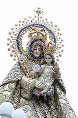 Nuestra Seora del Santsimo Rosario de Manaoag (@iamjayarrb) Tags: catholic mary philippines mother manila filipino virginmary intramuros pilipinas igmp2014 intramurosgrandmarianprocession2014