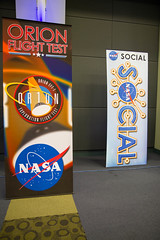 Orion EFT1 NASA Social Banners