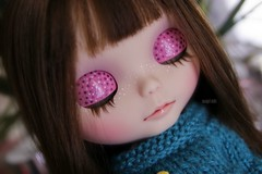 Blossom's eyelids :)