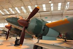 IMG_3652  Mitsubishi Dinah - World War 2 Reconnaissance Aircraft (SomeBlokeTakingPhotos) Tags: aircraft aviation touristattraction warbird raf cosford militaryaircraft aircraftmuseum royalairforce