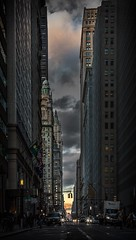 New York (quenel.jiang) Tags: street city usa newyork storm skyscraper landscape photography cityscape broadway wallstreet stockexchange jiang quenel 5dmarkiii