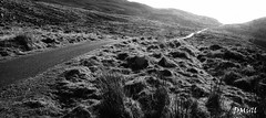 The Road Home (DMull) Tags: road light shadow bw mountain path pano heavenly backandwhite nireland armagh slieve newry coarmagh slievegullion dromintee dmull