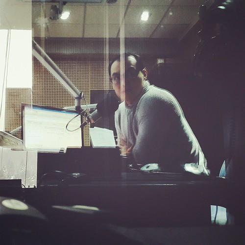 Сегодня в эфире #rusradio. Всем привет! #vscocam