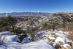 Snowy Colorado Springs [explored]