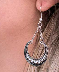 5th Avenue Silver Earrings K1 P5210A-2
