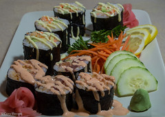"Sushi Night • <a style=""font-size:0.8em;"" href=""http://www.flickr.com/photos/92159645@N05/16048576169/"" target=""_blank"">View on Flickr</a>"