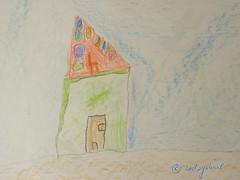 Drawing of a house by my son at 4yo (cod_gabriel) Tags: house drawing son dessin dibujo filho fiu tegning desenho disegno hijo fils zeichnung tekening sohn figlio  teckning rysunek rajz piirustus   desen menggambar