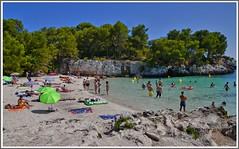 Cala Turqueta/Menorca (Cervusvir) Tags: espaa beach rural landscape spain playa landschaft menorca spanien balearen mittelmeer calaturqueta islas inseln illes balears mar mediterraneo baleares balearische