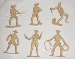MARX Baravelli 60s - soldatini grandi cow boy (THE MYCIA COLLECTION) Tags: boy italy vintage toy soldier toys cow made marx 70 anni soldatini baravelli